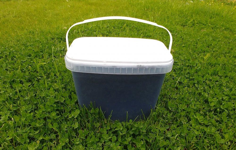 Shungite powder (square bucket) - Shungit, Karelian Shungite